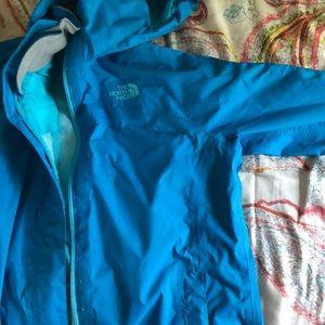 North face rain jacket youth L